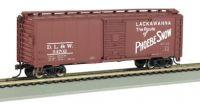 17044 Bachmann вагон 40ft. Box Car Lackawanna (Phoebe Snow)