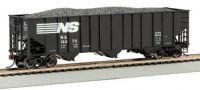 18741 Bachmann вагон-хоппер 100-Ton Three-Bay Hopper Norfolk Southern #144913