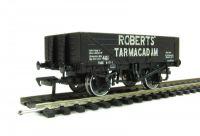 37-037 Bachmann Branchline вагон 5 Plank Wagon Steel Floor 'Roberts Tarmacadam'