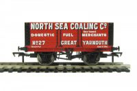 37-112 Bachmann Branchline вагон 7 Plank Fixed End Wagon 'North Sea Coaling. Co.'
