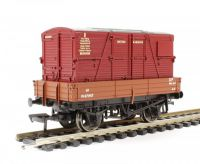 37-930C Bachmann Branchline вагон 3 Plank Wagon BR Bauxite With BD Container BR Crimson