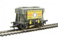 38-271A Bachmann Branchline вагон 22 Ton Presflo Bulk Powder Wagon Cement Mktg Bd 'Snowcrete'