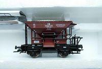 46128 Roco вагон-хоппер 2-хосный  Talbot Schotterwagen der DB