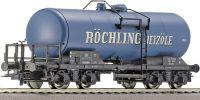 "47839 Roco Tank car ""Rochling"" of the DB вагон"