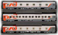 48028 LS Models Набор пассажирских вагонов Москва-Берлин 3 шт.