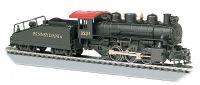 50615 Bachmann паровоз USRA 0-6-0 w/Smoke & Slope Tender - Pennsylvania Railroad #3234