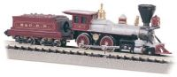 51112 Bachmann локомотив American 4-4-0 & Tender - B&O