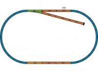 57153 Piko Стартовый набор модельной железной дороги «FEUERWEHR DB»