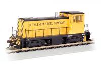 60612 Bachmann тепловоз GE 70 Ton Bethlehem Steel - Yellow & Black DCC