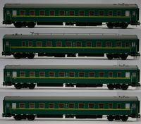 Евротрейн Набор пассажирских вагонов 4 шт.