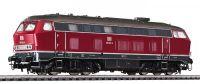 L132023 Liliput тепловоз Diesel Locomotive BR 219 Red DB Ep.IV