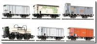 L240125 Liliput набор вагонов 6 шт. G-Set 6tlg '125 J. Gotthardbahn' Ep.I Lim.S.