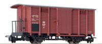 L294229 Liliput вагон Geschlossener Wagen mit Bremserbuhne, RSE, Epoche III