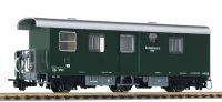L344405 Liliput пассажирский вагон Postwagen 3-achs, F3o/s OBB, grun, BWB, Ep.III